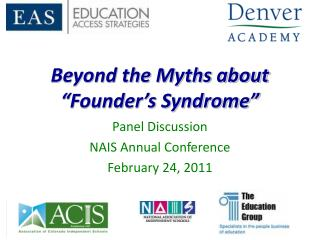 "Beyond the Myths about ""Founder's Syndrome"""