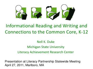 Informational Reading and Writing and Connections to the Common Core, K-12