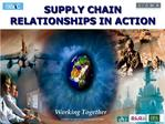 What is Supply Chain Relationships in Action SCRIA