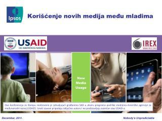 Korišćenje novih medija među mladima