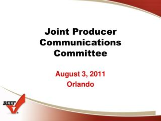 Joint Producer Communications Committee