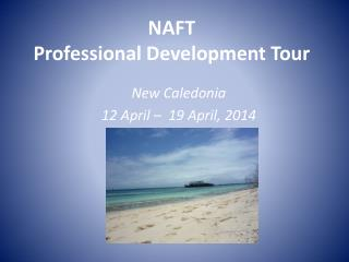 NAFT Professional Development Tour
