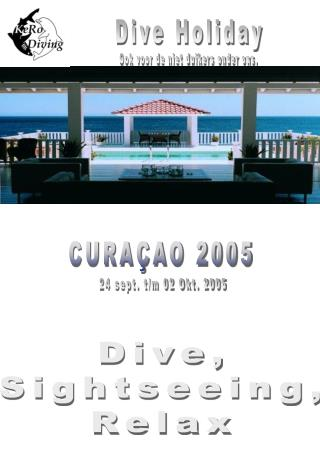 Dive Holiday