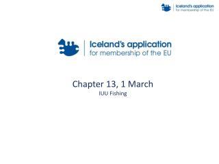 Chapter 13, 1 March IUU Fishing