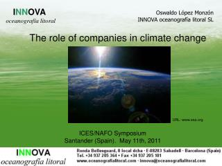 The role of companies in climate change
