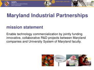 Maryland Industrial Partnerships