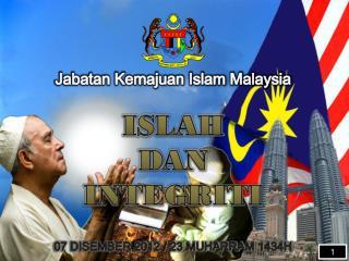 ISLAH  DAN  INTEGRITI