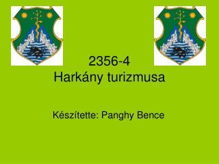 2356-4 Harkány turizmusa