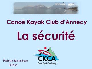 Canoë Kayak Club d'Annecy