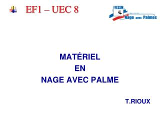 EF1 – UEC 8