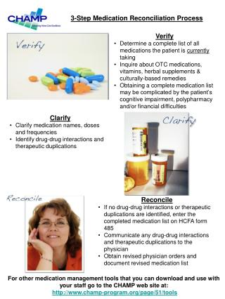 Verify Determine a complete list of all medications the patient is  currently  taking