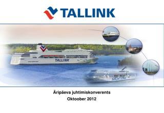 Äripäeva juhtimiskonverents Oktoober  2012