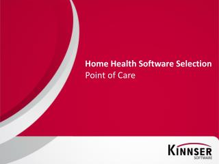 Home Health Software Selection