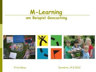 M-Learning am Beispiel Geocaching