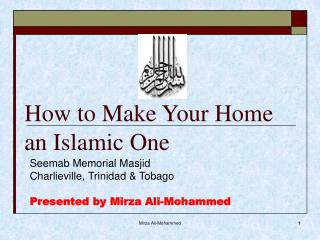 How to Make Your Home an Islamic One