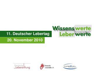 11. Deutscher Lebertag