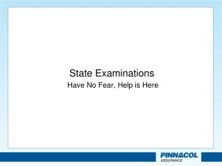 State Examinations
