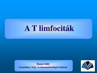 A T limfociták