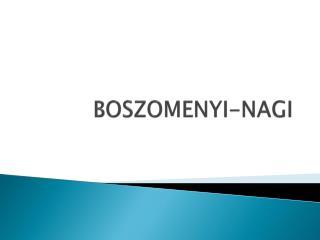 BOSZOMENYI-NAGI