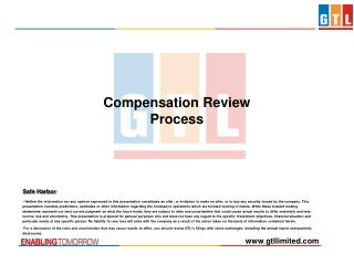 Compensation Review Process