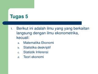 Tugas 5