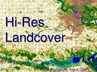 Hi-Res Landcover