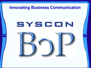 Innovating Business Communication