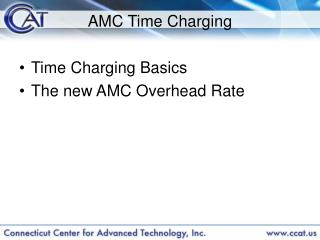 AMC Time Charging