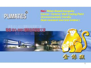 NaLi  Water-Based Inorganic  Interior / Exterior Wall Coating Paint  (Environmentally friendly,