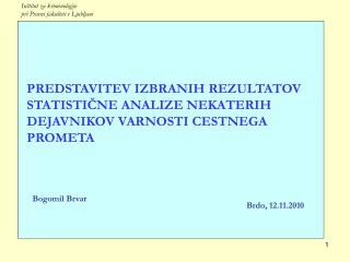 Inštitut za kriminologijo  pri Pravni fakulteti v Ljubljani