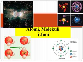 Atomi ,  Molekuli i  Joni
