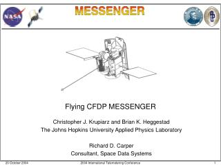 Flying CFDP MESSENGER
