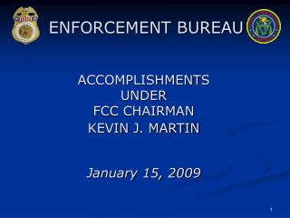 ENFORCEMENT BUREAU