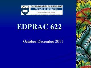 EDPRAC 622