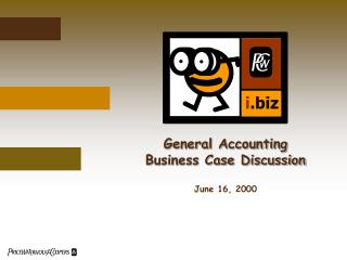 General Accounting Business Case Discussion
