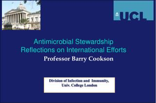 Prof essor  Barry Cookson