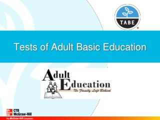 Tests of Adult Basic Education