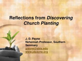 Reflections from  Discovering Church Planting