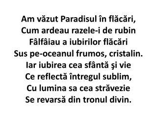 034 - Am vazut paradisul in flacari
