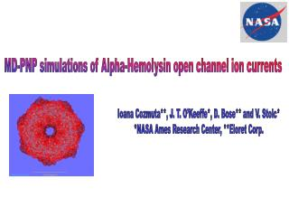 MD-PNP simulations of Alpha-Hemolysin open channel ion currents