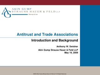 Antitrust and Trade Associations