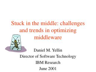 Stuck in the middle: challenges and trends in optimizing middleware