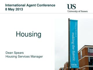 International Agent Conference 8 May 2013