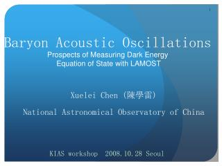 Baryon Acoustic Oscillations Prospects of Measuring Dark Energy  Equation of State with LAMOST