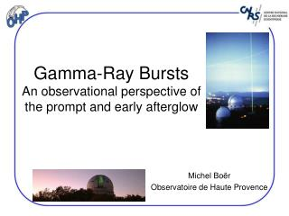 Gamma-Ray Bursts An observational perspective of the prompt and early afterglow