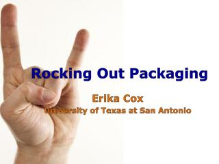 Rocking Out Packaging