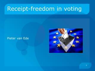 Receipt-freedom in voting