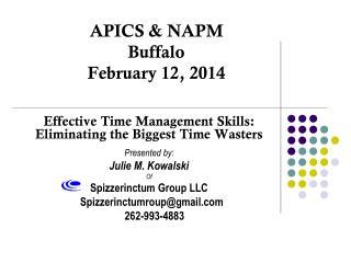 APICS & NAPM Buffalo February 12, 2014