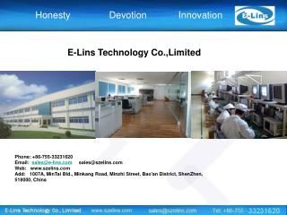 E-Lins Technology Co.,Limited