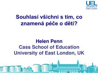 Péče o dítě ,  nebo vzdělávání?